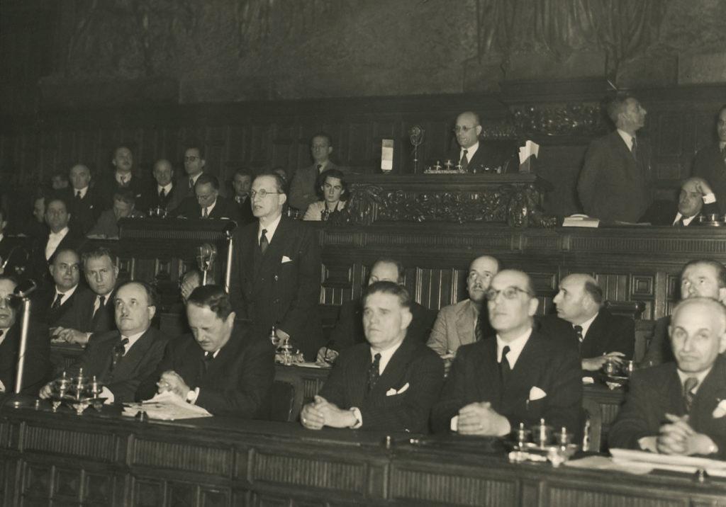 Teresa Mattei nell'Assemblea Costituente