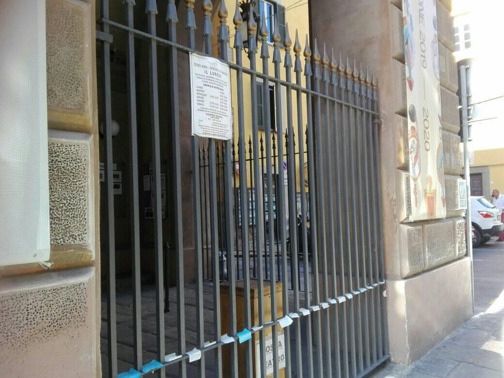 Teatro Verdi chiuso